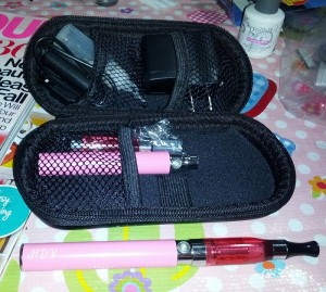 Pink Vaping Kit