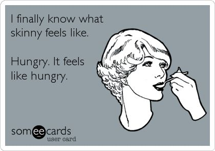 What hungry feels like