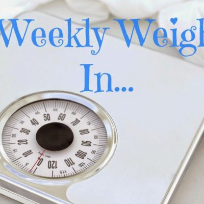 Weigh-in #26, I'm back! Slow Progress!