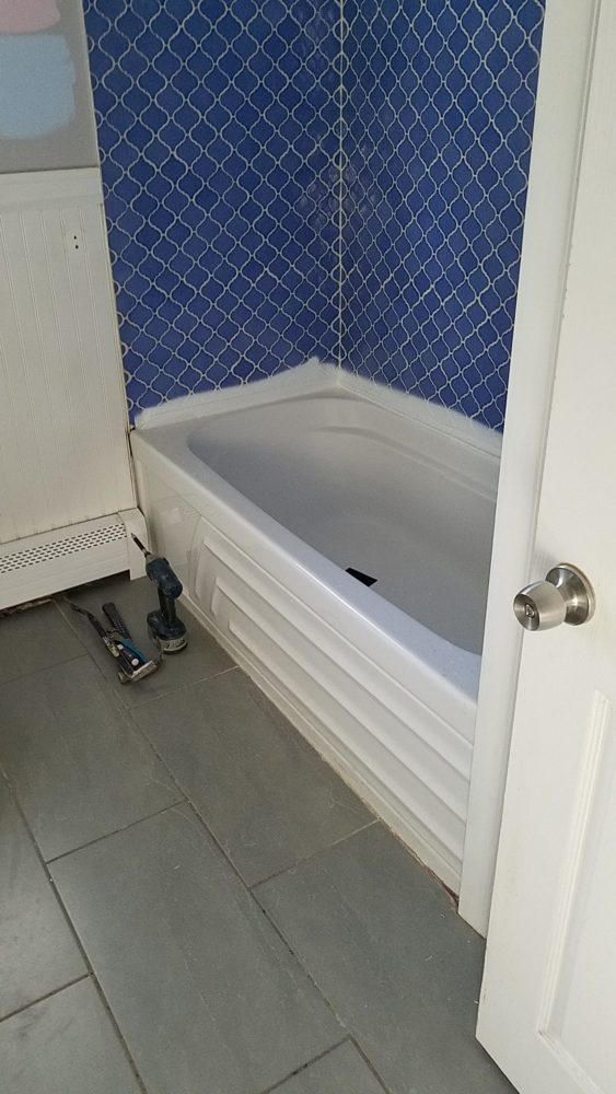 Renovating Bathroom